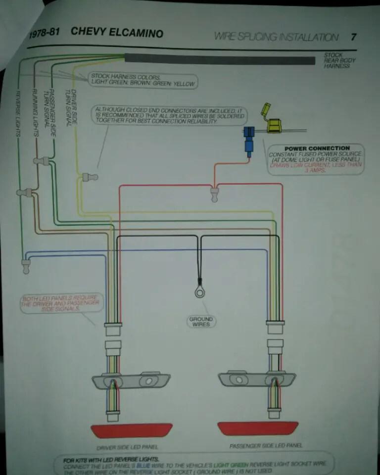 El Camino Wiring Schematic