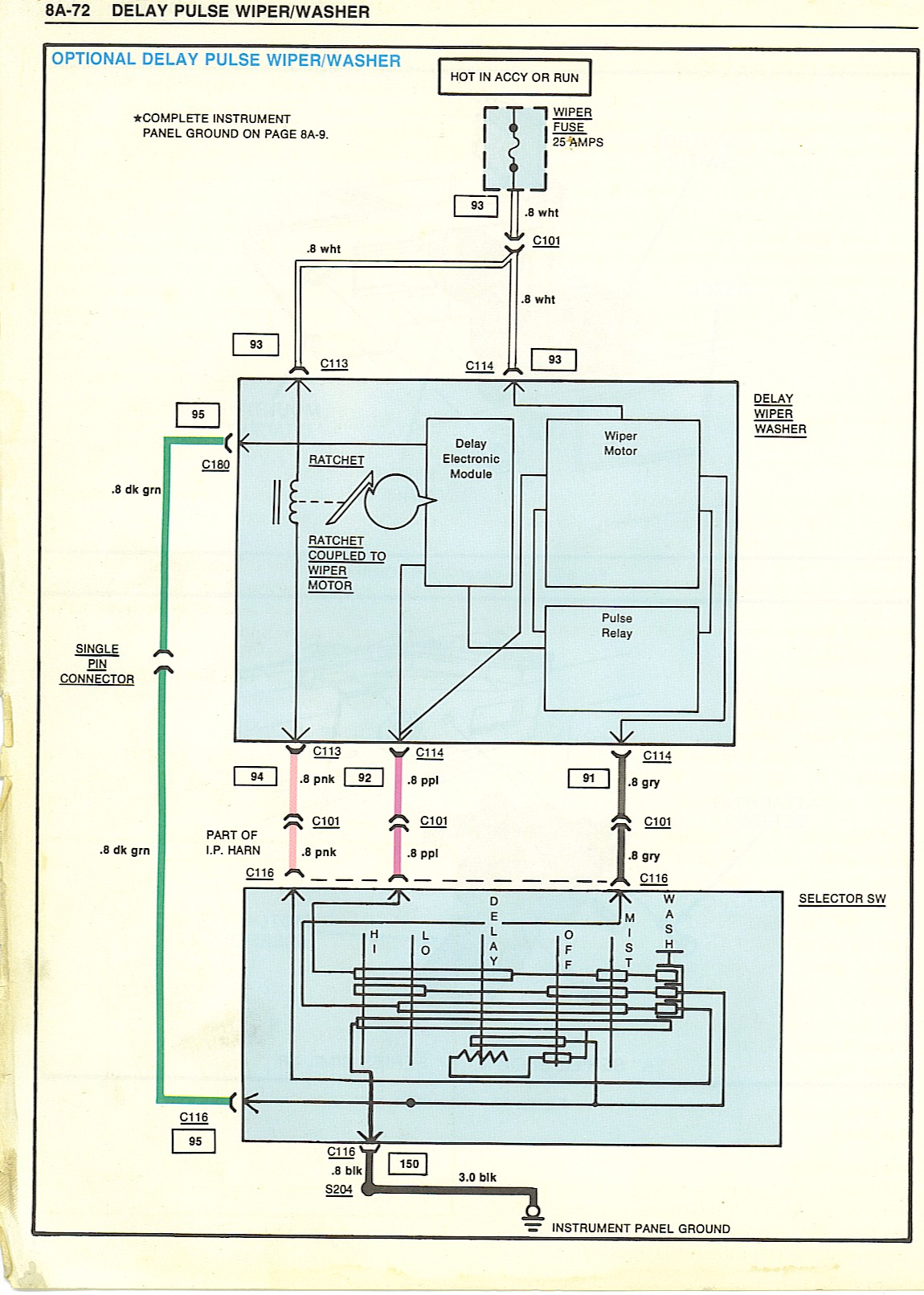 hight resolution of el camino wiring diagram grounds