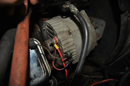 small resolution of 78 chevy alternator wiring