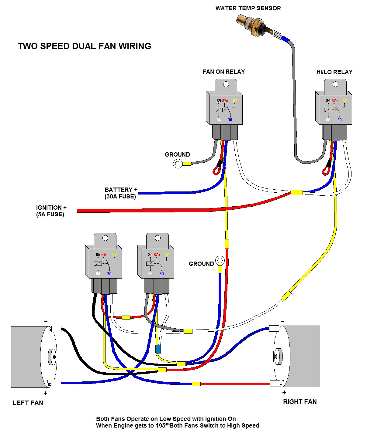 hight resolution of  electric fan wiring diagram 78 88 general motors a