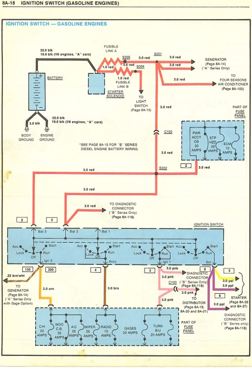 small resolution of wiring diagram for 1981 chevy el camino with hei ignition