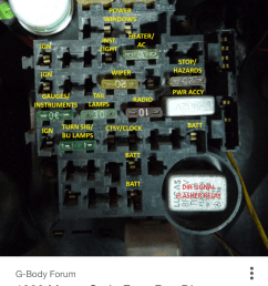78 chevy fuse box location electrical wiring diagrampartial fuse box down gbodyforum u002778  [ 1242 x 2208 Pixel ]