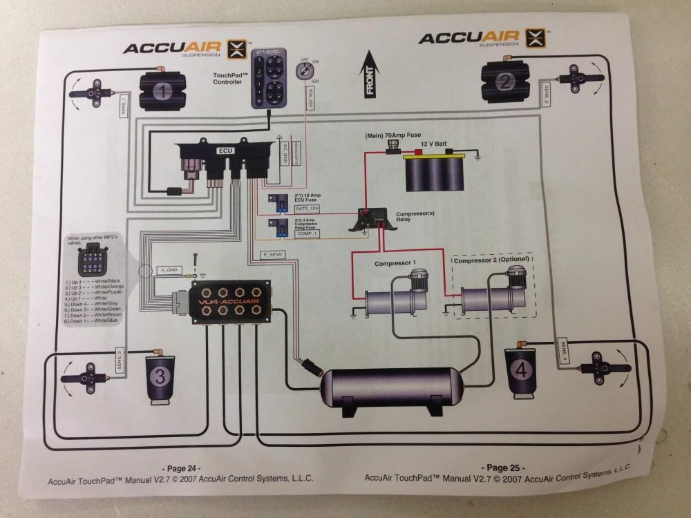 medium resolution of accuair wiring diagram