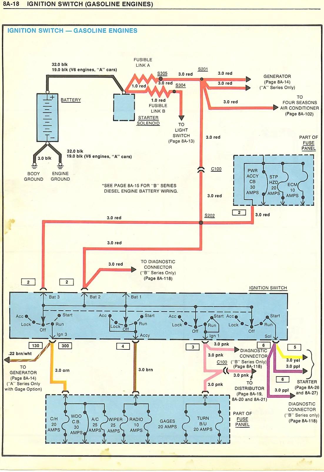 g body ac wiring diagram 2001 dodge durango stereo issue gbodyforum 3978 3988 general motors a