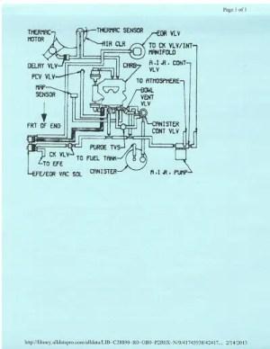 Vacumm Diagram and AC heater control vacuum diagram