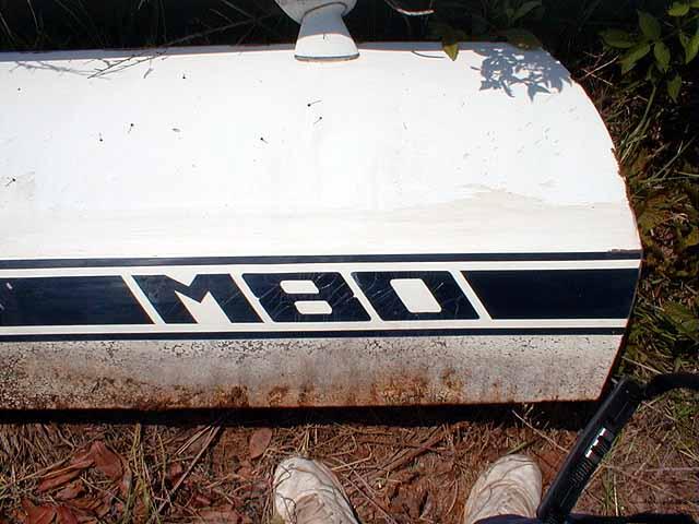 Correct Malibu M-80 Stripes and Lettering