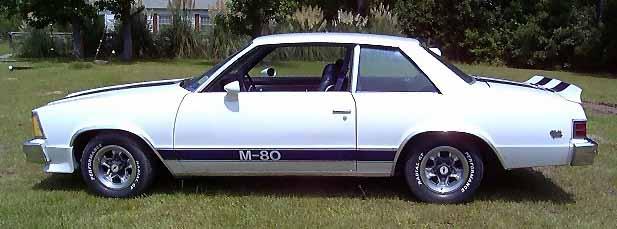 Malibu M-80 (Incorrect Stripes)