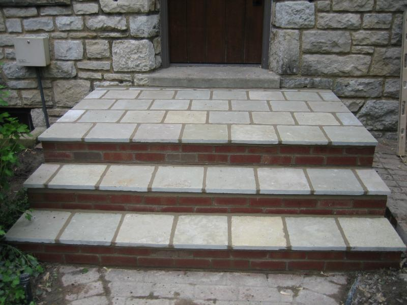 GBR Masonry Inc  Patios and Steps