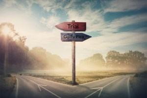 should I go to trial should I plead guilty