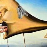 Deskripsi Lukisan Karya Salvador Dali Sleep (sleeping)