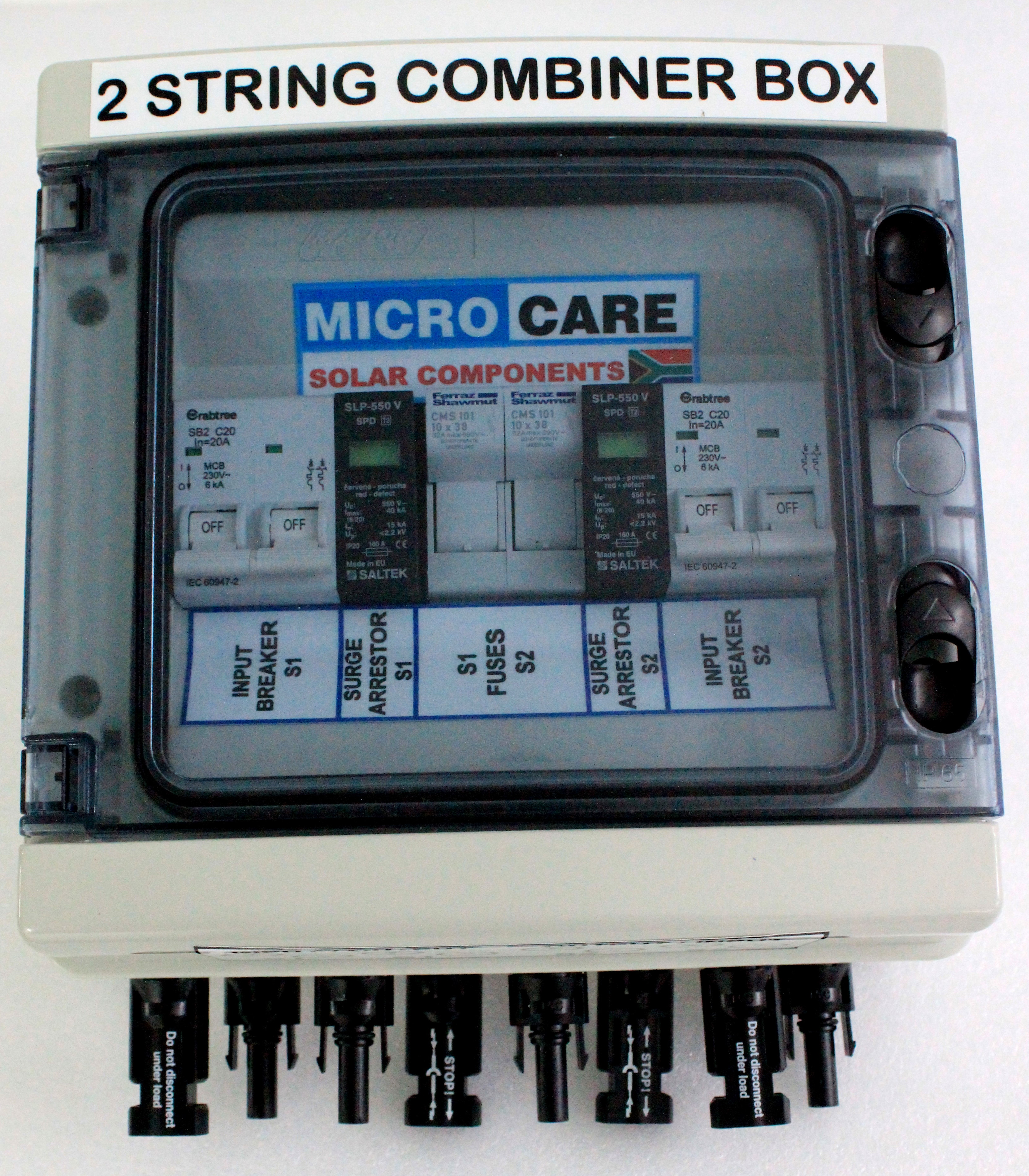 Diy Solar Combiner Box Wiring Diagram