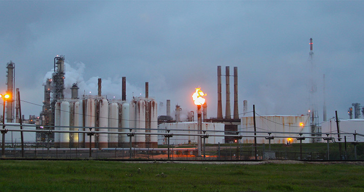 Shell's Deer Park Refinery