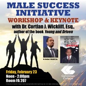 Dr. Cortlan Wickliff workshop and keynote