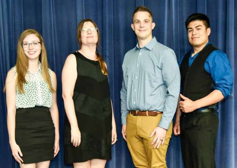SGA officers at Galveston College