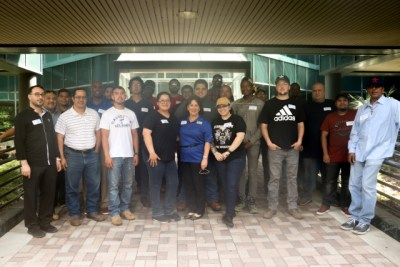 GC Students Visit ExxonMobil Chemical Company