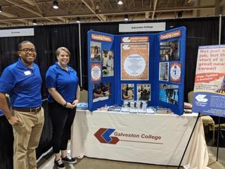 Galveston College participates in Oceans of Opportunity job fair
