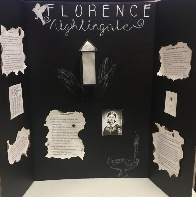 Florence Nightingale Poster Presentation