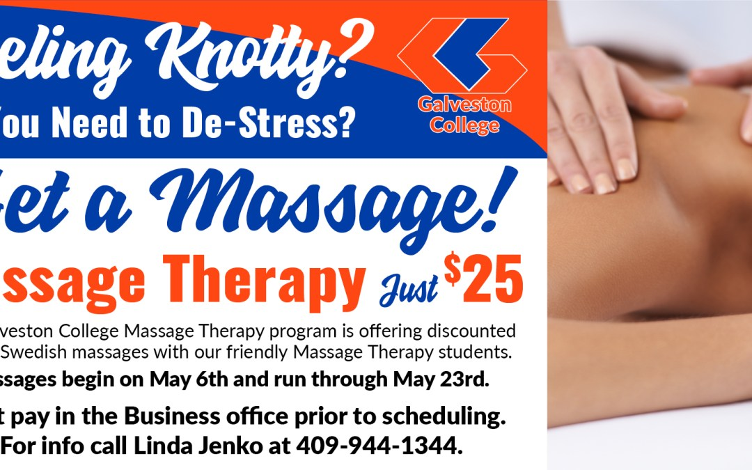 Massage Therapy program offers Swedish massages