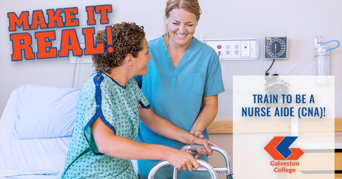 Become a Certified Nurse Aide (CNA) in a long-term care facility or for a Home Health Agency