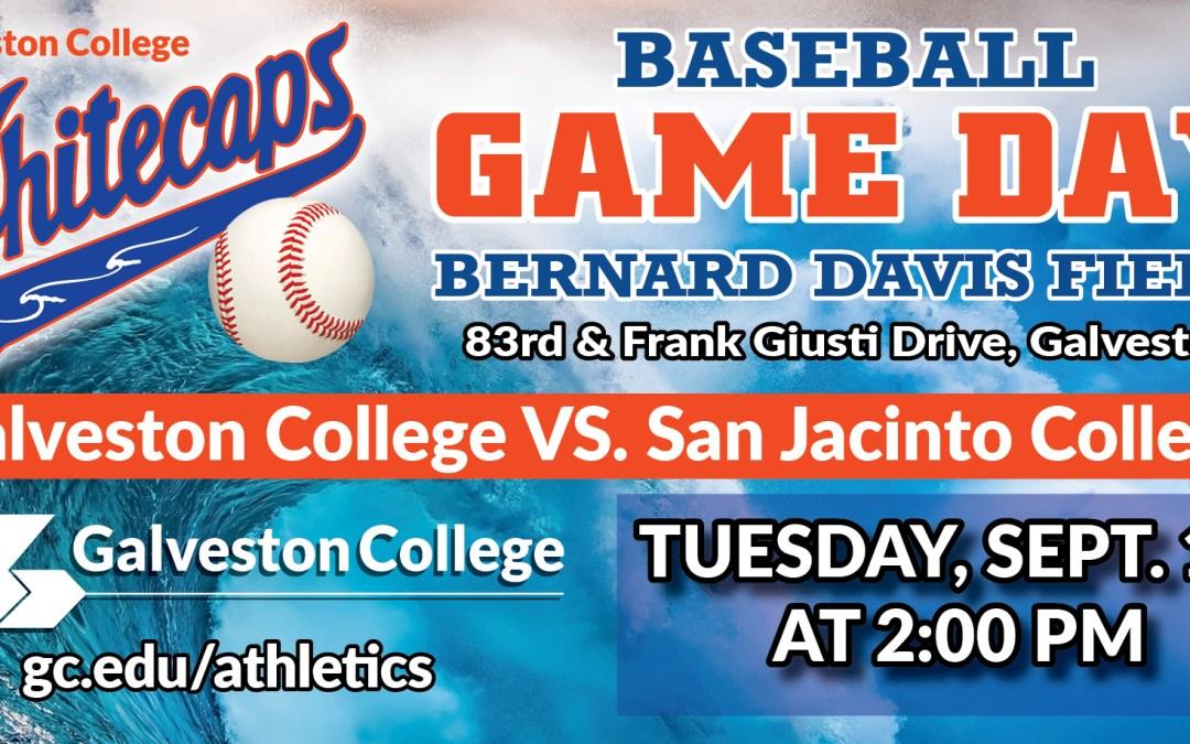Whitecaps Baseball vs. San Jacinto College