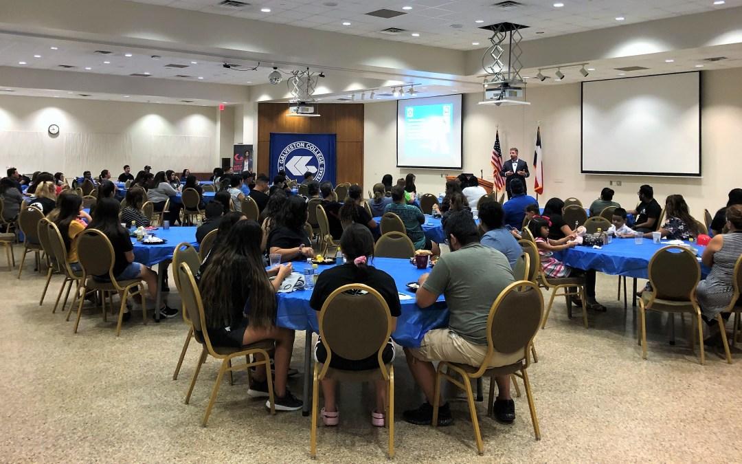 Upward Bound students hear presentation on cyber safety