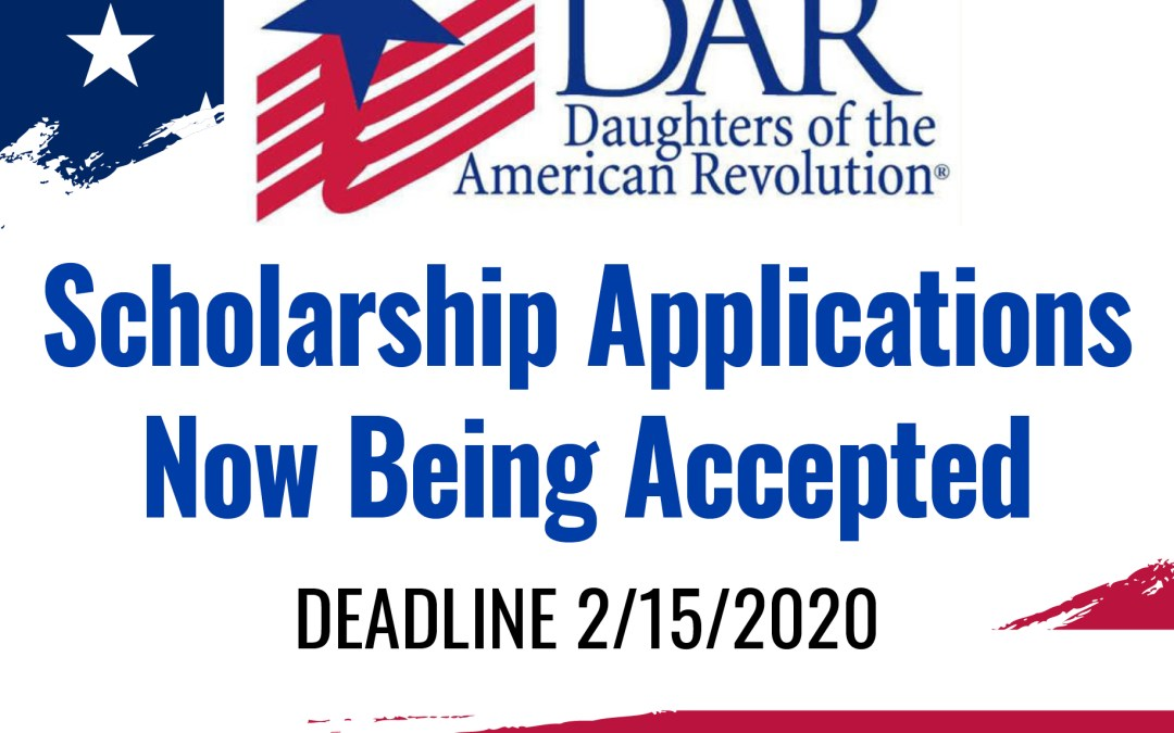 DAR offers scholarships for students