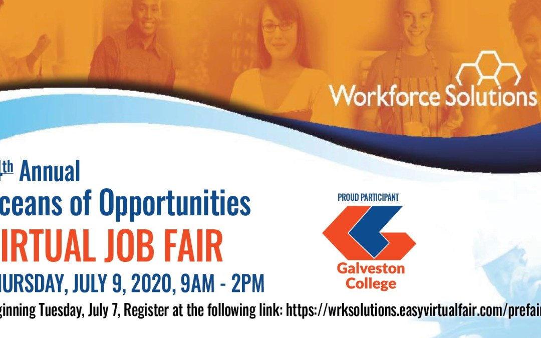 Oceans of Opportunities virtual job fair is July 9