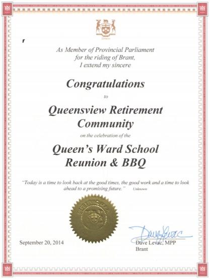 QueensviewAward02