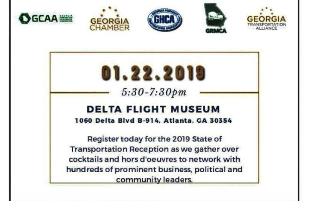 State of Transportation Reception -1/22/2019