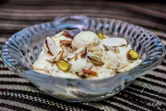 Khiya Paneer Kulfi HD Image by Alka Sharma of Mummy Ki Rasoi for G Caffe
