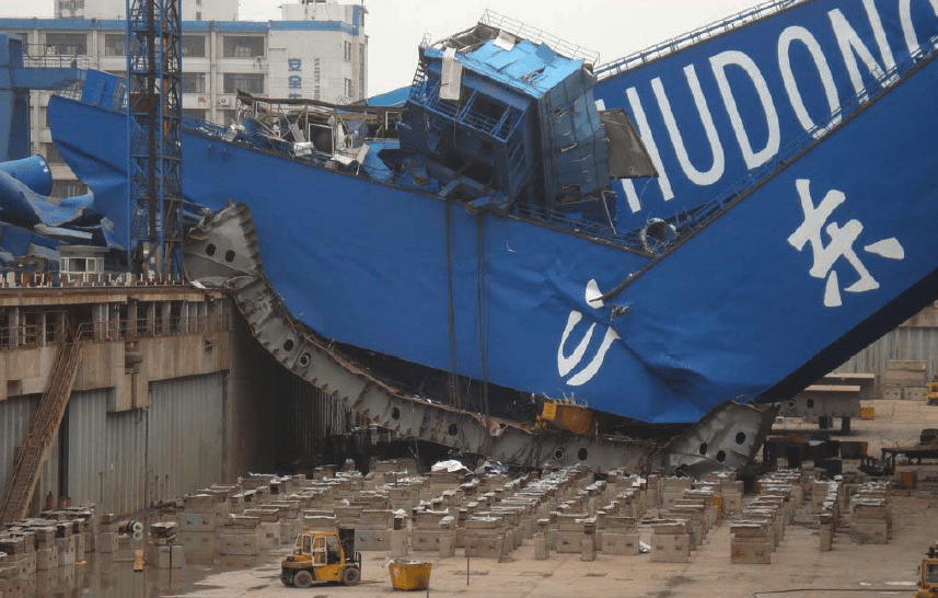 The Fall Bbc Wallpaper Jumbo Crane Collapse Incident Photo Of The Week Gcaptain