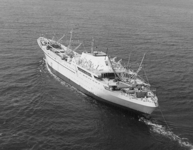 The World's First Nuclear Merchant Ship