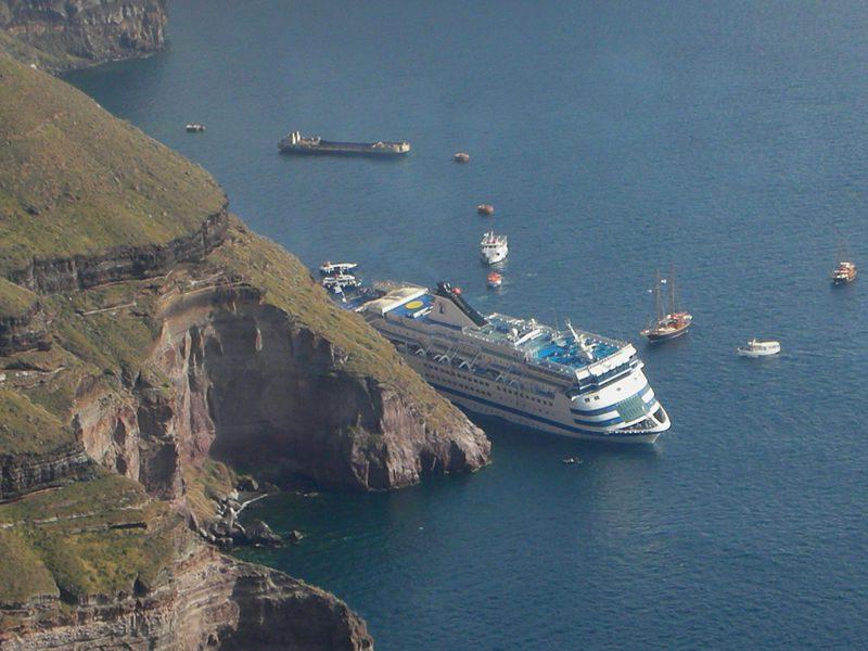 2007 sea diamond sinking
