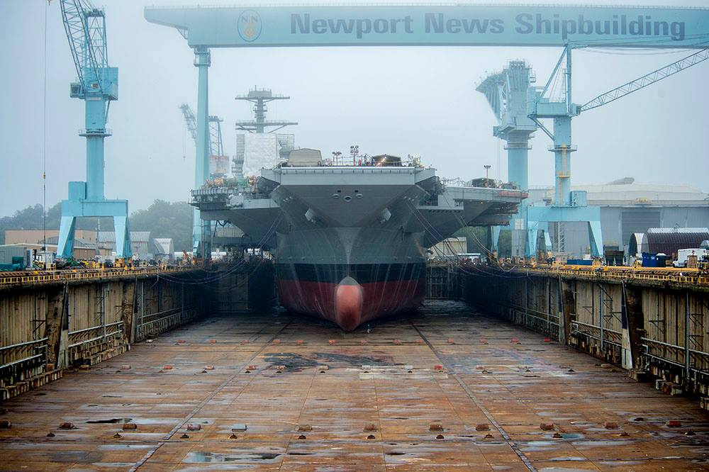 Ship Photos Of The Day Gerald R Ford Aircraft Carrier