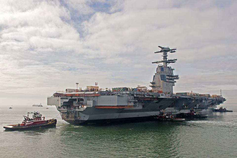 Navy Engineer Caught Trying to Steal Supercarrier Secrets  gCaptain