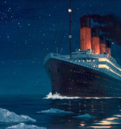 on 105th anniversary of titanic sinking you can now watch the disaster unfold in real time gcaptain [ 1024 x 768 Pixel ]
