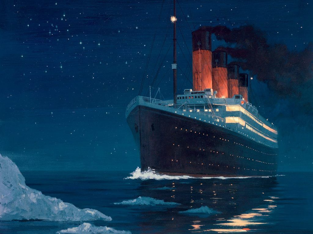 hight resolution of on 105th anniversary of titanic sinking you can now watch the disaster unfold in real time gcaptain