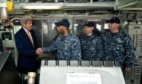 Kerry's Soft Words Blunt U.S. Naval Power in South China Sea