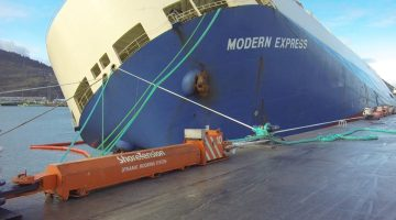 Dyneema® fiber does double duty to tow and tie up stricken Modern Express