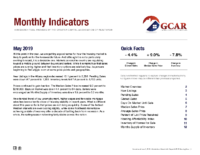 00 Monthly Indicator – May 2019