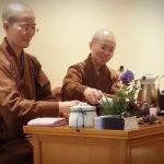 大悲菩提寺帶領大眾在品茶中,體會佛法與人生哲學