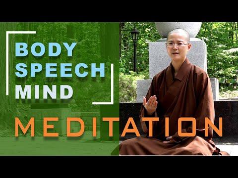 A Guided Meditation to Purify Body Speech Mind | Awaken Inner Compassion, Wisdom
