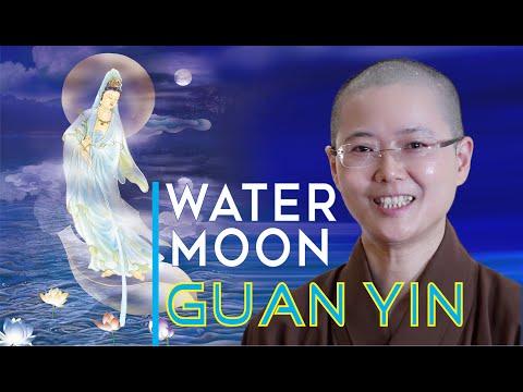 WATER MOON Guan Yin | Buddhist Story | Avalokiteshvara Through Moon Light