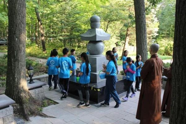 2019大悲菩提寺第六屆青少年卓越禪修營,將慈悲的善種子撒入每一位年輕青少年的心田。【 活動報導二 】