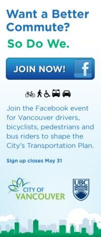 Exploring Vancouver's Transportation Future Advertisment