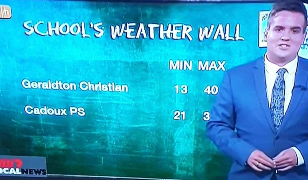 Geraldton Christian College meteorology weather education