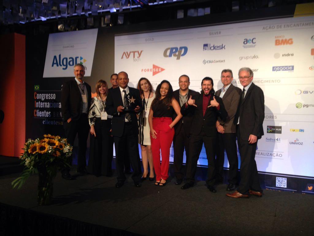 Prêmio ClienteSA 2018 - GCC é Ouro