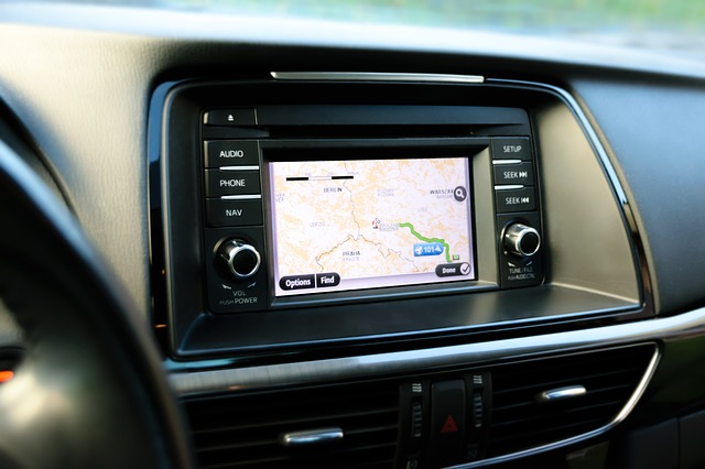 GPS Tracking Device in a Car