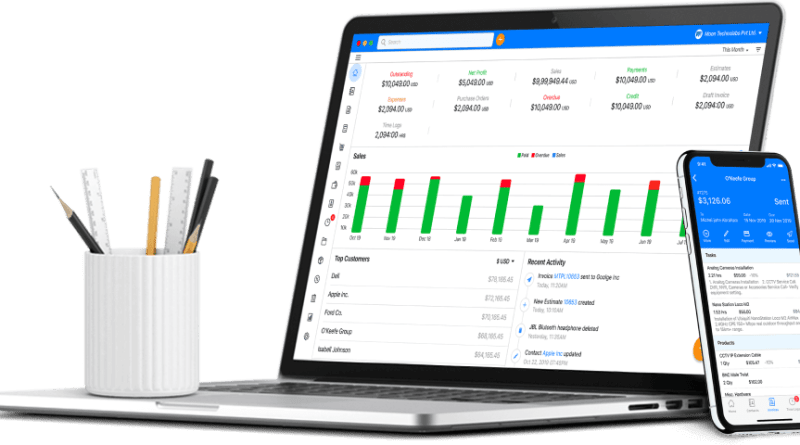 Online Billing Software for Small businesses