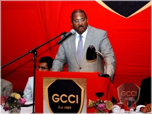 GCCI Vice President Lance Hinds